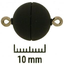 Neumann pyöreä magneettilukko, huurrettu musta