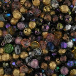 Preciosa lasihelmisekoitus, fasettihiottu 8 mm