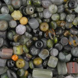 Preciosa lasihelmisekoitus, Stone Clay