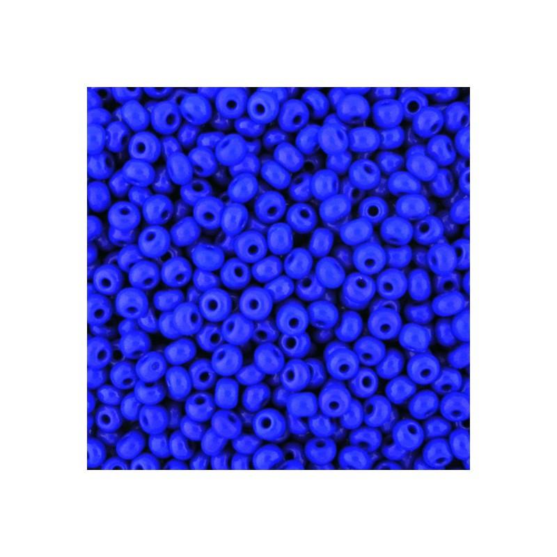 Preciosa pyöreä siemenhelmi 6/0, opaakki tummansininen