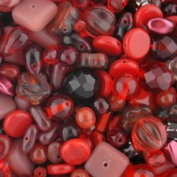 Preciosa lasihelmisekoitus, Ruby Garnet 2