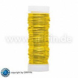 Griffin FancyWire kuparilanka 0,5 mm, keltainen
