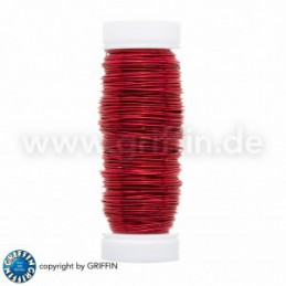 Griffin FancyWire kuparilanka 0,5 mm, punainen