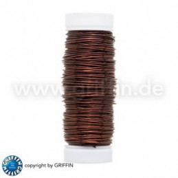 Griffin FancyWire kuparilanka 0,5 mm, ruskea