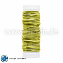 Griffin FancyWire kuparilanka 0,5 mm, limenvihreä