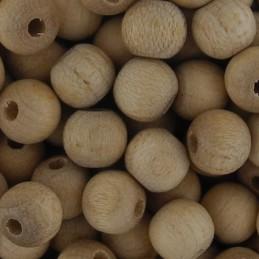 Preciosa pyöreä puuhelmi 6 mm, käsittelemätön