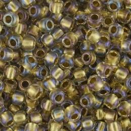 Toho pyöreä siemenhelmi 11/0, sisältä värjätty kirkas sisävärinä kulta