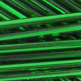 Lasiputki lasihimmelien tekoon. Preciosa putkihelmi 60 mm, hopeasisus vihreä