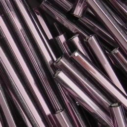 Preciosa lasiputkii 30 mm, hopeasisus ametisti