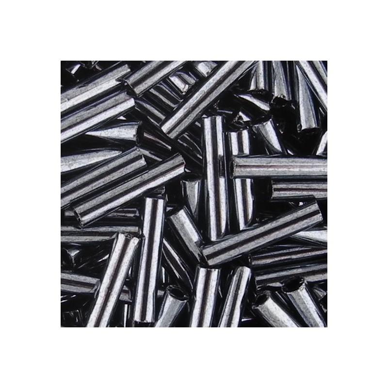 Toho putkihelmi #3, metallinen hematiitti
