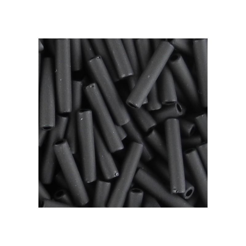 Toho putkihelmi 9 mm, opaakki huurrettu musta