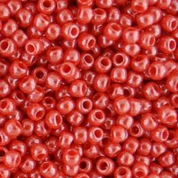 Toho pyöreä siemenhelmi 11/0, opaakki kiiltävä kirsikanpunainen
