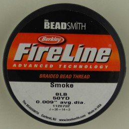 FireLine -kuitusiima 0,23 mm, tummanharmaa