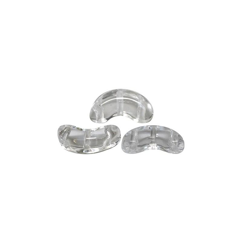 Arcos® par Puca® lasihelmi 5 x 10 mm, kirkas