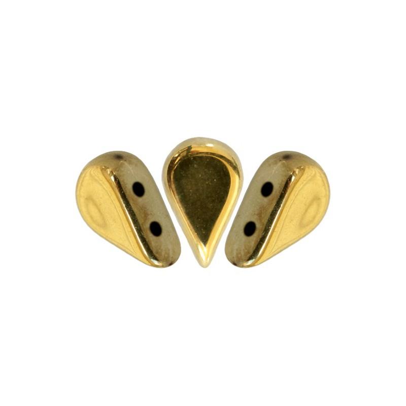 Amos® par Puca® lasihelmi 5 x 8 mm, kullanvärinen