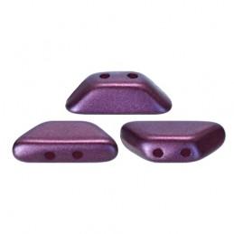 Tinos® par Puca® lasihelmi 4 x 10 mm, pastelli bordeaux