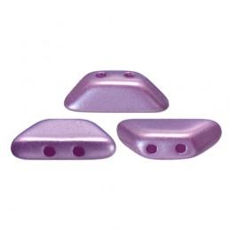 Tinos® par Puca® lasihelmi 4 x 10 mm, pastelli lila