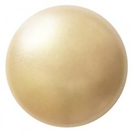 Cabochons par Puca® lasikapussi 18 mm, helmeilevä kerma