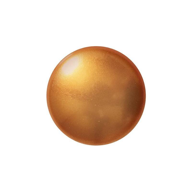 Cabochons par Puca® lasikapussi 18 mm, helmeilevä kulta