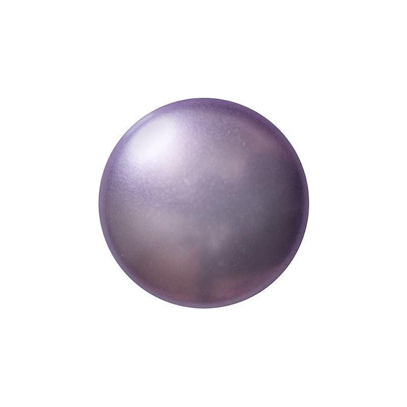 Cabochons par Puca® lasikapussi 18 mm, helmeilevä violetti