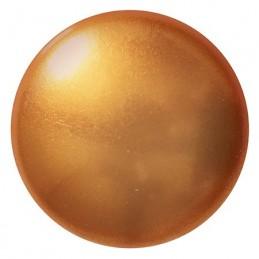 Cabochons par Puca® lasikapussi 25 mm, helmeilevä kulta