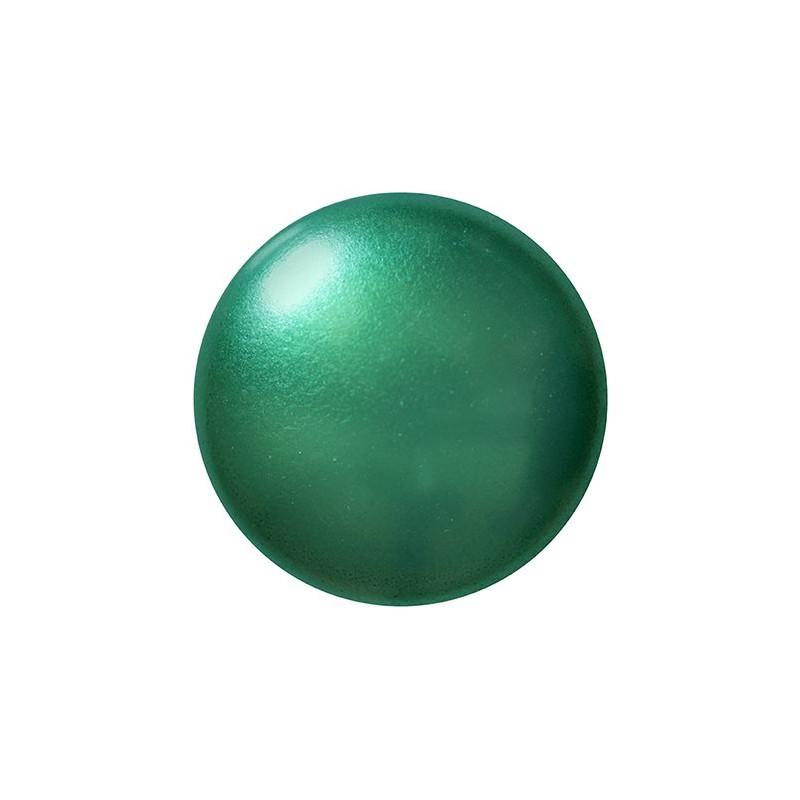 Cabochons par Puca® lasikapussi 25 mm, helmeilevä vihreänturkoosi