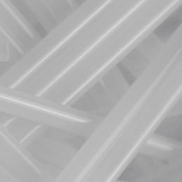 Preciosa lasiputkii 30 mm, läpikuultava valkoinen alabasteri