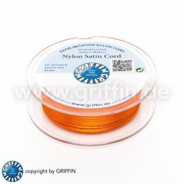 Griffin nailon satiininyöri 1,0 mm, oranssi