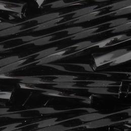 Preciosa lasiputki 30 mm, kierretty opaakki musta