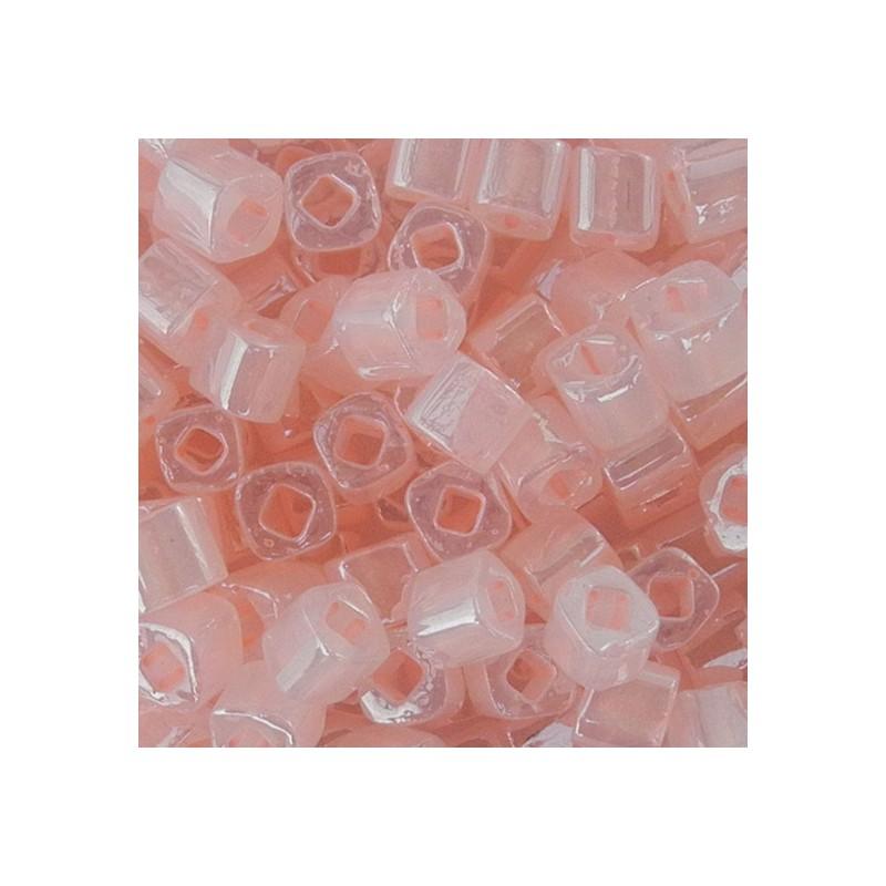 Toho siemenhelmi kuutio 3 mm, helmeilevä viaton pinkki