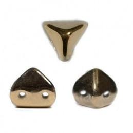 Super-KhéopS® par Puca® lasihelmi 6 x 6 mm, opaakki tumma pronssi