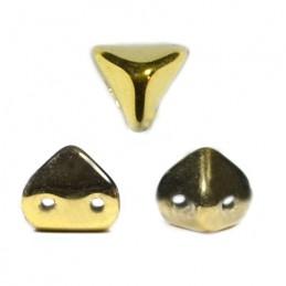 Super-KhéopS® par Puca® lasihelmi 6 x 6 mm, kullanvärinen