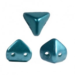 Super-KhéopS® par Puca® lasihelmi 6 x 6 mm, pastelli smaragdinvihreä