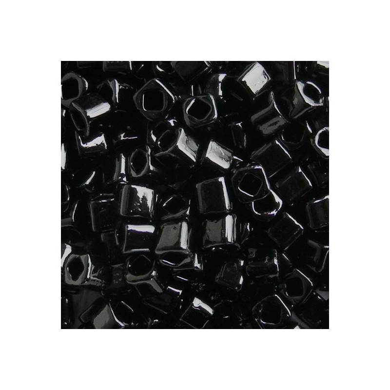 Toho siemenhelmi kuutio 3 mm, opaakki musta