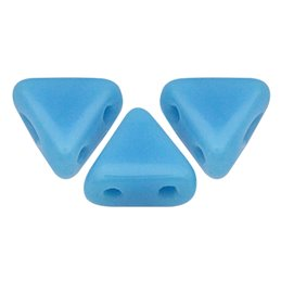 Khéops® par Puca® lasihelmi 6 x 6 mm, opaakki siniturkoosi