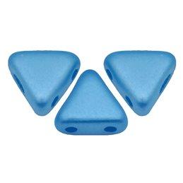 Khéops® par Puca® lasihelmi 6 x 6 mm, pastelli sininen