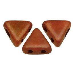 Khéops® par Puca® lasihelmi 6 x 6 mm, opaakki suklaa
