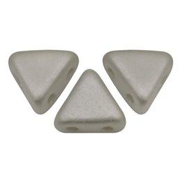 Khéops® par Puca® lasihelmi 6 x 6 mm, opaakki harmaa
