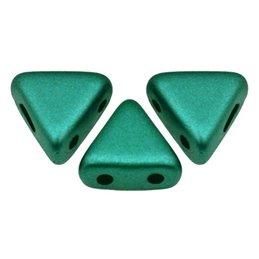Khéops® par Puca® lasihelmi 6 x 6 mm, pastelli vihreä