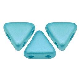 Khéops® par Puca® lasihelmi 6 x 6 mm, pastelli vedensininen