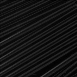 Preciosa putkihelmi 60 mm, opaakki musta