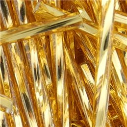 Preciosa putkihelmi 60 mm, kierretty hopeasisus topaasi