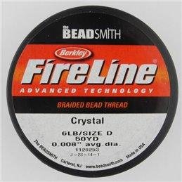 FireLine -kuitusiima 0,20 mm, kirkas