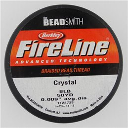 FireLine -kuitusiima 0,23 mm, kirkas