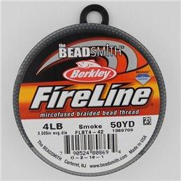 FireLine -kuitusiima 0,12 mm, tummanharmaa