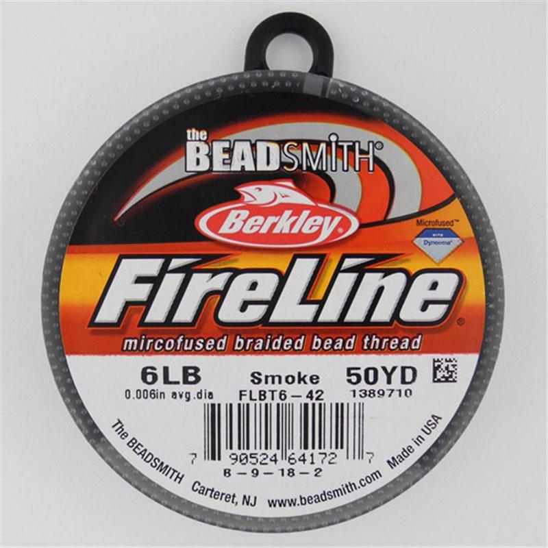 FireLine -kuitusiima 0,15 mm, tummanharmaa
