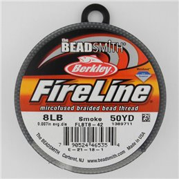 FireLine -kuitusiima 0,17 mm, tummanharmaa