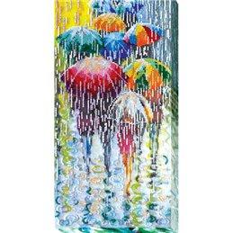 Helmikirjontapakkaus Cheerful umbrellas