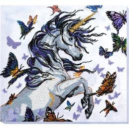 Helmikirjontapakkaus Unicorn