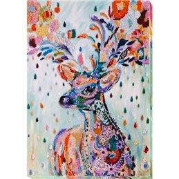 Helmikirjontapakkaus Noble deer